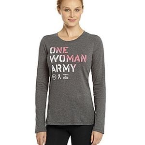 UNDER ARMOUR ONE WOMEN ARMY BREAST CANCER …